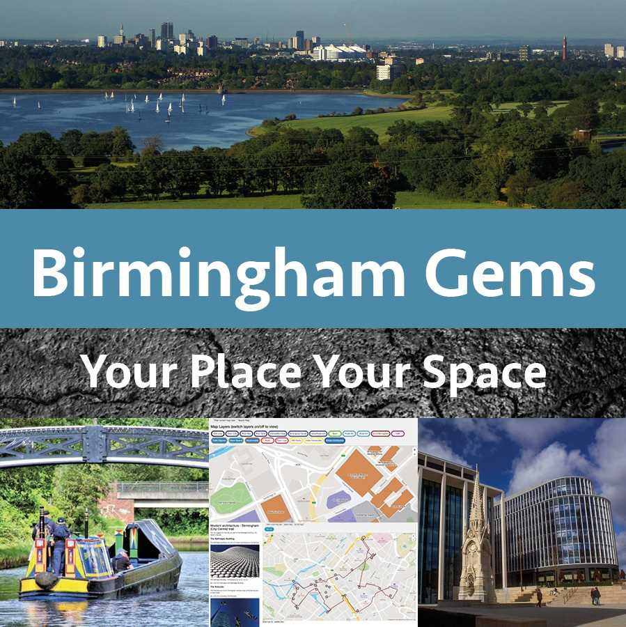 Birmingham Gems - mapped and featured for you