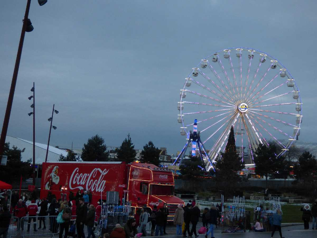 Coca Cola Ice Skate Eastside City Park 2017