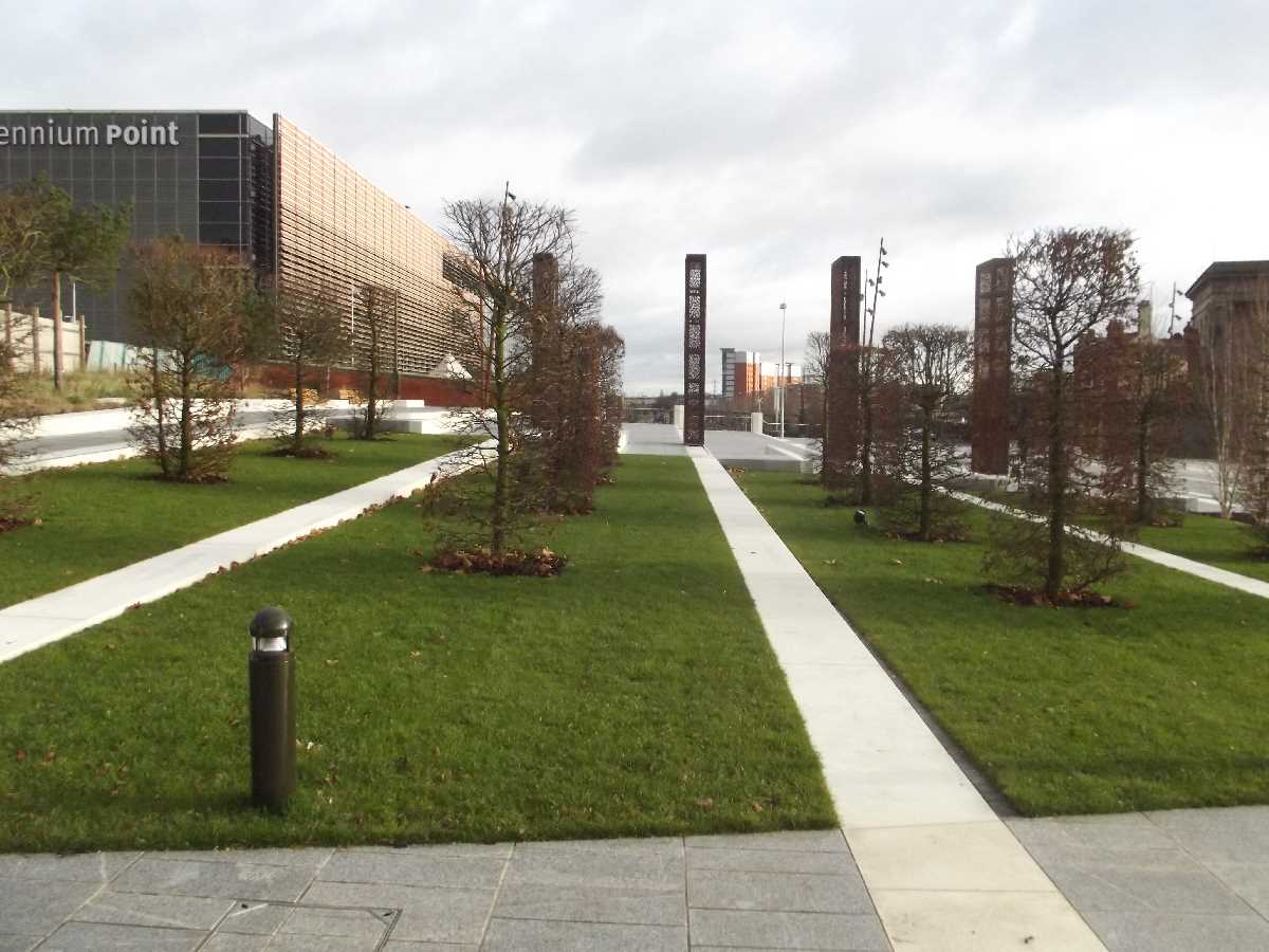 Eastside City Park as it was in 2012 onwards after it opened