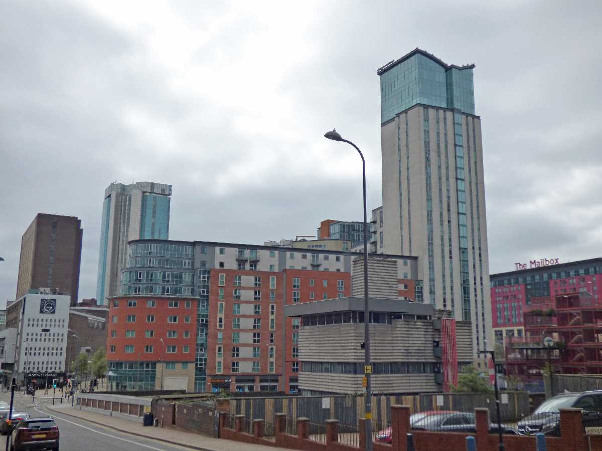 Orion Building, Birmingham, UK - City architecture