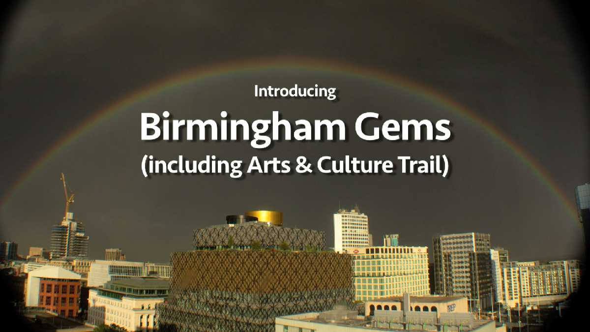 Birmingham Gems - largest collaboration of community showcasing a great city
